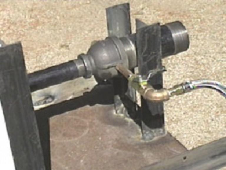Горелка газовая для кузнечного горна своими руками