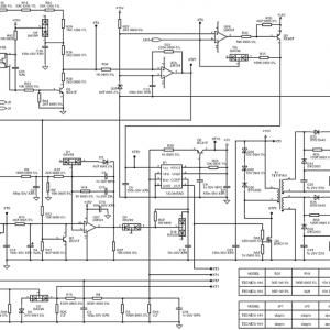 Управляющая часть схемы сварочного инвертора.