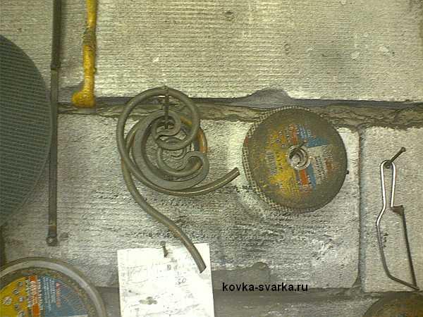 завитушки кованые и диски для болгарки