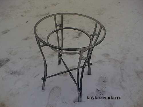 ковка столик