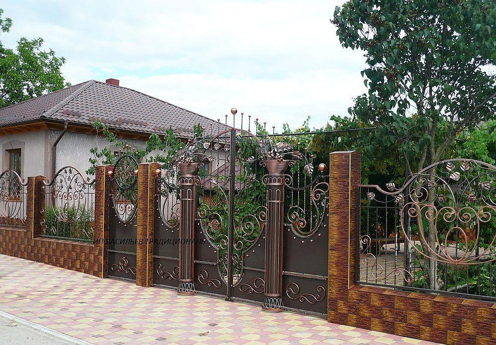 Калитки и ворота фото своими руками