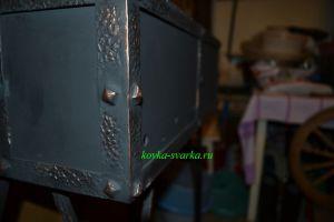 Фото кованого мангала