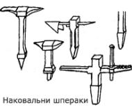 Мини-наковальня шперак