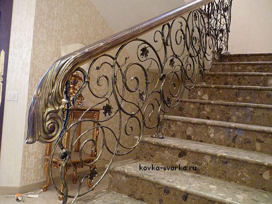 Перила для лестницы из дерева своими руками