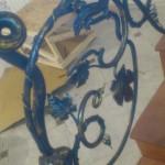 Фото участка кованых перил