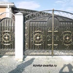 Фото ворот и калитки