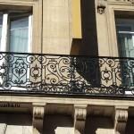 балконные кованые перила
