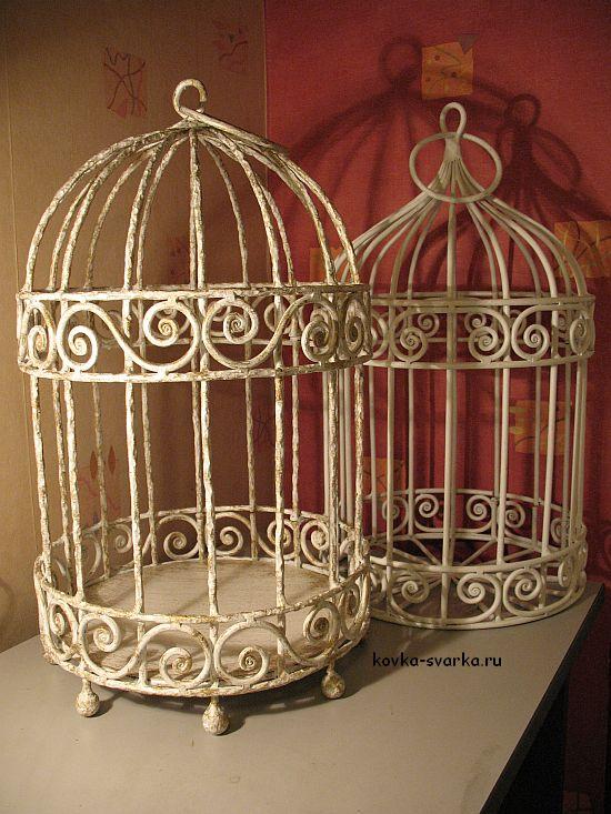 Клетка для птиц  из проволоки