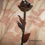 роза из металла, сварка