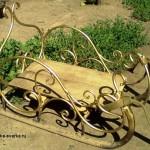 кованые санки