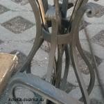 Фото кованого вазона