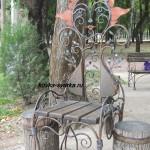 Фото кованого кресла