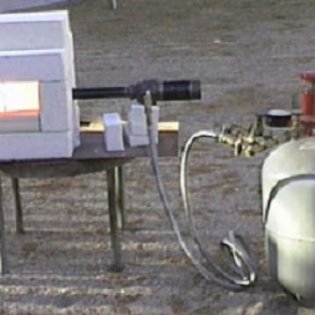 Газовый горн для плавки