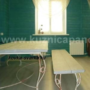 Фото кованой мебели