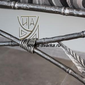 Фото кованого бамбука