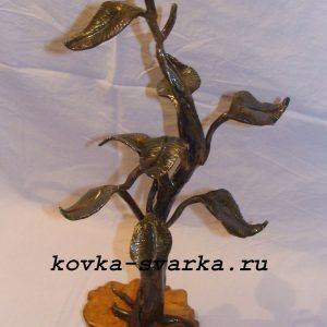 Фото кованого дерева