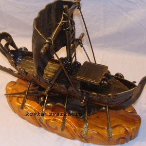 Фото кованого кораблика