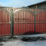 Фото кованых ворот