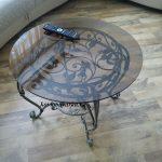 Фото кованого стола