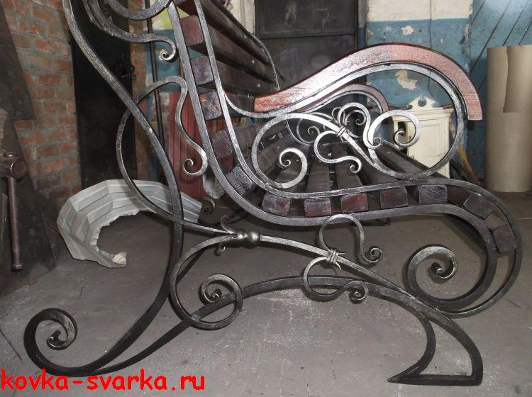 кованая скамья, Краснодарский край