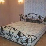 Формы и стили кроватей из ковки