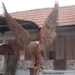 Кованый орел, перила, люстры, ворота и другие работы от Артура Дарбинян