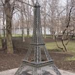 Кованая «Эйфелева башня» и другие работы от кузницы «Максим»
