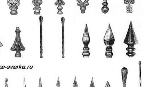 Кованые элементы на ворота