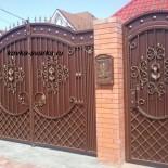 Кованые ворота и калитки — фото