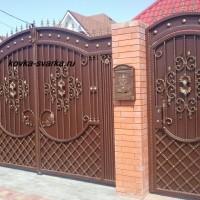 Кованые ворота и заборы от Василия Васина из Сальска