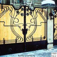 Кованые решетки, лестничные перила и ограждения, ворота и калитки от ИП Девятых О.Л.