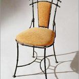 Кованый стул из коллекции «Бамбук» мебельной фирмы «ШкоМ»