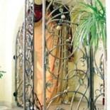 Кованые двери и их стили