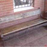 Кованая скамейка от Р.А.Звонковского