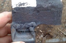 Подсечка — подкладной инструмент для рубки горячего и холодного металла своими руками, фото, видео