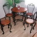 Кованые стулья — фото